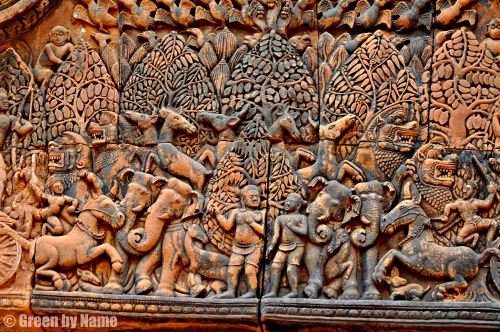 The children of Banteay Srei